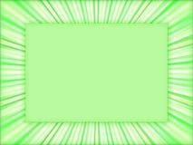 Groen frame - achtergrond Royalty-vrije Stock Foto