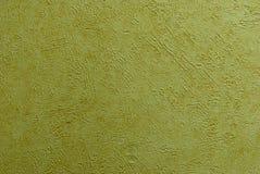 Groen-gele verf Royalty-vrije Stock Foto's
