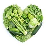 Groen gezond voedsel Royalty-vrije Stock Afbeeldingen