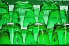 Groen glas Royalty-vrije Stock Foto's