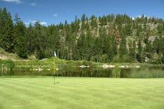 Groen golf royalty-vrije stock afbeelding