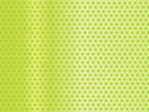 Groen gordijn. Stock Foto's