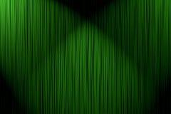 Groen gordijn als achtergrond Royalty-vrije Stock Foto's