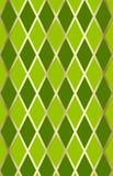 Groen/gouden harliquin Royalty-vrije Stock Foto's