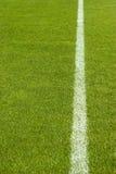 Groen Gras en de Lijn stock afbeelding