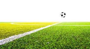 Groen gras voor voetbalsport Royalty-vrije Stock Fotografie