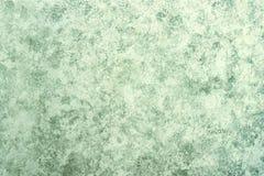 Groen grijs beige zilveren marmeren document Stock Afbeeldingen