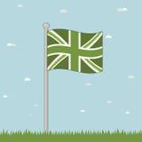 Groen Groot-Brittannië Stock Afbeeldingen