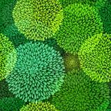 Groen herhaald patroon Royalty-vrije Stock Foto