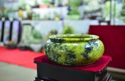 Groen Jadebassin Stock Afbeeldingen