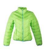 Groen jasje stock foto's