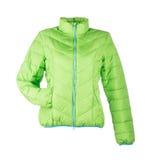 Groen jasje royalty-vrije stock foto's