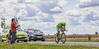 Groen Jersey Peter Sagan Royalty-vrije Stock Afbeeldingen