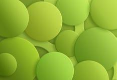 Groen 2017 kleur Stock Afbeelding