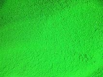 Groen kleurenpoeder Stock Foto's