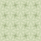 Groen knoppenpatroon Royalty-vrije Stock Foto's