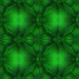 Groen kristal Stock Foto's