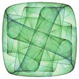 Groen kruis Stock Foto's