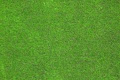 Groen kunstmatig gras plat Stock Afbeelding