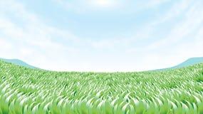 Groen land stock illustratie
