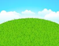 Groen land royalty-vrije illustratie