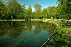 Groen landschap Royalty-vrije Stock Afbeeldingen
