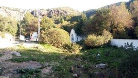 Groen landschap van Tunesië royalty-vrije stock afbeelding