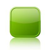 Groen leeg pictogram stock illustratie
