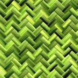 Groen mandweefsel Stock Foto