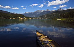 Groen Meer, BC, Canada Royalty-vrije Stock Foto's
