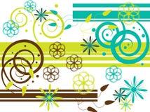 Groen met Afgunst Royalty-vrije Stock Fotografie