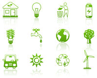 Groen milieu Stock Foto's
