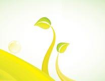Groen milieuconceptontwerp Royalty-vrije Stock Afbeelding