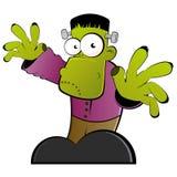 Groen Monster Royalty-vrije Stock Afbeeldingen