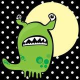 Groen monster stock illustratie