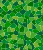 Groen mozaïek Stock Foto's