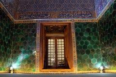 Binnen moskee Yeshil royalty-vrije stock fotografie