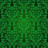 Groen naadloos behang Vector Illustratie