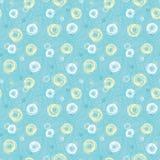 Groen naadloos patroon #3 Royalty-vrije Stock Afbeelding