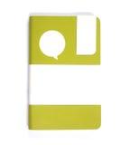 Groen notitieboekje Stock Foto's