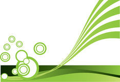 Groen ontwerp Stock Foto's