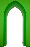 Groen ontwerp van gotisch portaal Royalty-vrije Stock Afbeeldingen