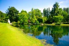 Groen Park Royalty-vrije Stock Afbeeldingen