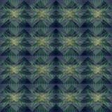 Groen pastelkleur abstract geometrisch patroon als achtergrond Stock Foto's
