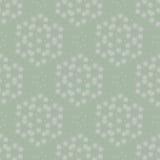 Groen patroon met lichte ornamenten Royalty-vrije Stock Fotografie
