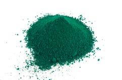 Groen pigment Royalty-vrije Stock Foto