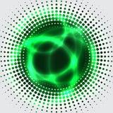 Groen plasma bagkground Stock Afbeeldingen