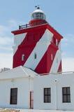 Groen punt licht huis, Kaapstad Stock Afbeeldingen