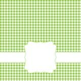Groen retro frame Stock Afbeeldingen