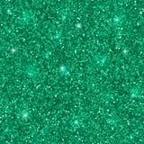 Groen schitter fonkelingen naadloos patroon Vector vector illustratie